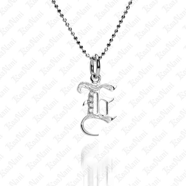 Initial pendant letter e aloadofball Choice Image